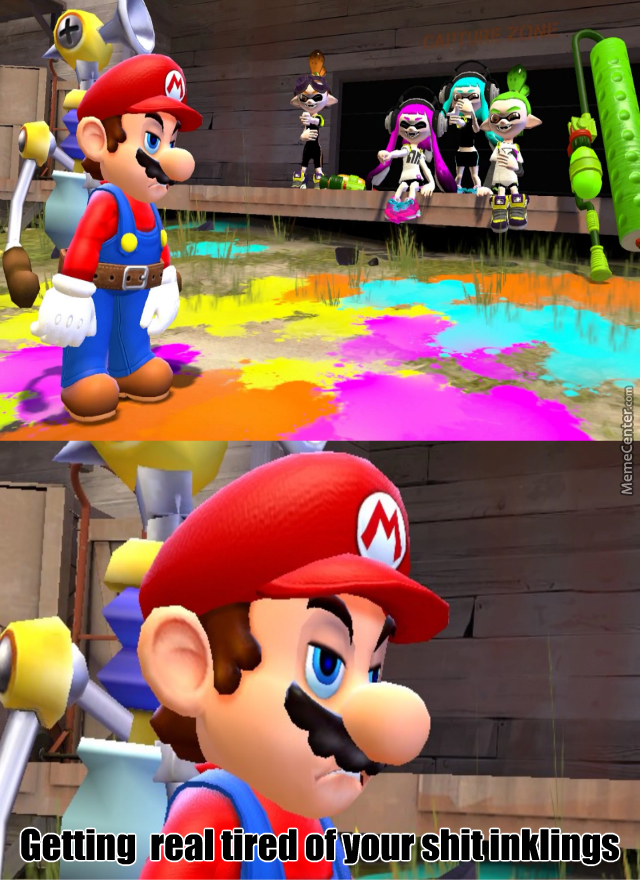 Going To Be A Real Bitch For Mario To Clean Up After Honest