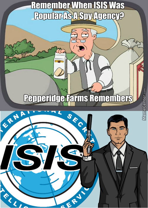 """karate? The Dane Cook Of Martial Arts? No Isis Agents Use Krav Maga""-Sterling Archer"