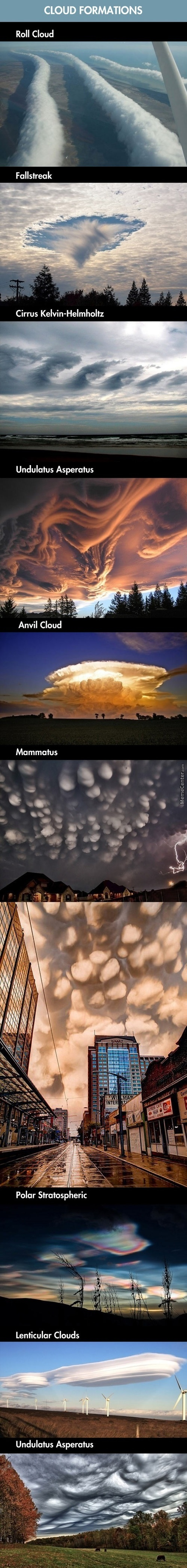 Amzing  Cloud Formations