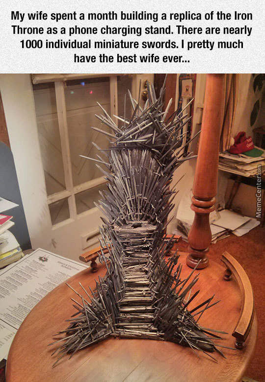 An Amazing Throne By An Amazing Wife
