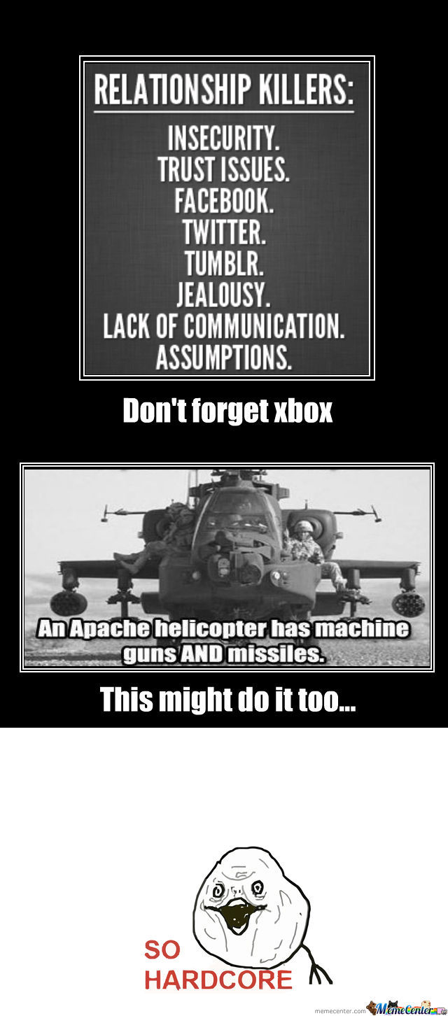 An Apache Helicopter Has Machine Guns And Missiles.