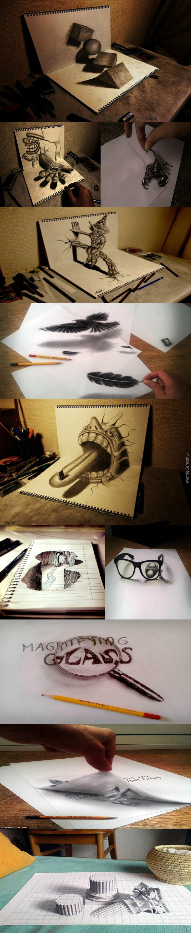 An Awesome 3D Drawing!!