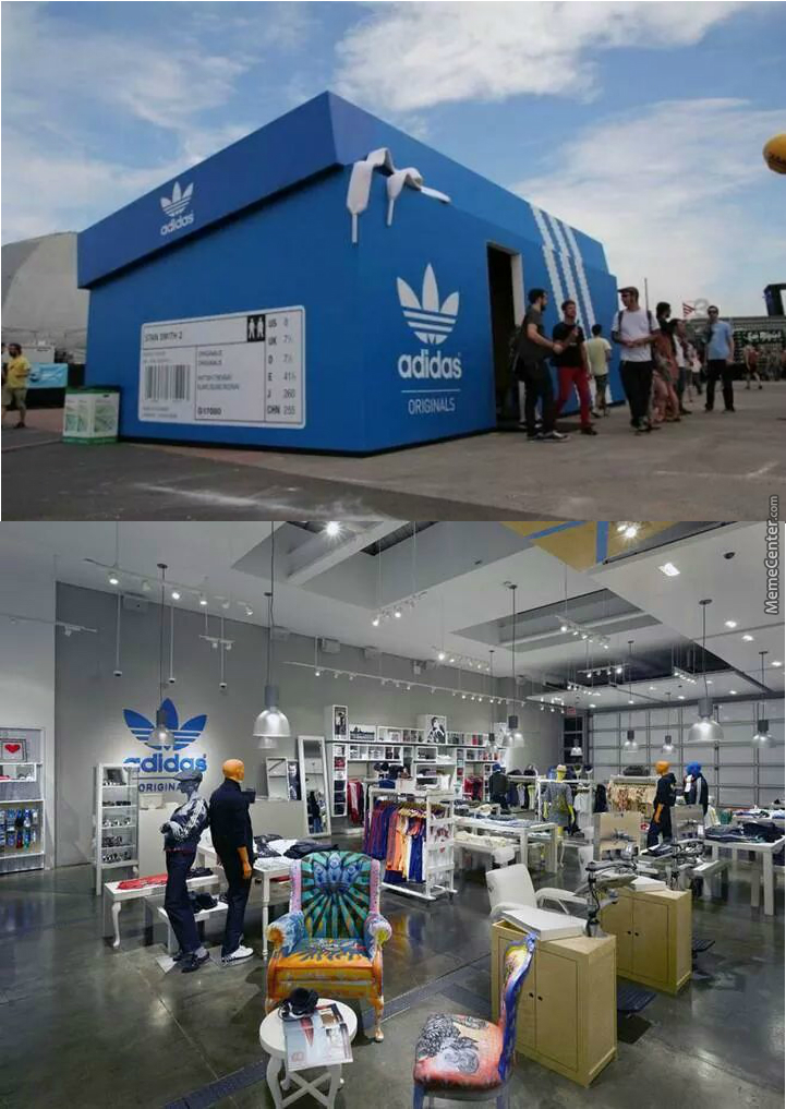 0b8fc1d36db An Awesome Adidas Store In Amsterdam by recyclebin - Meme Center