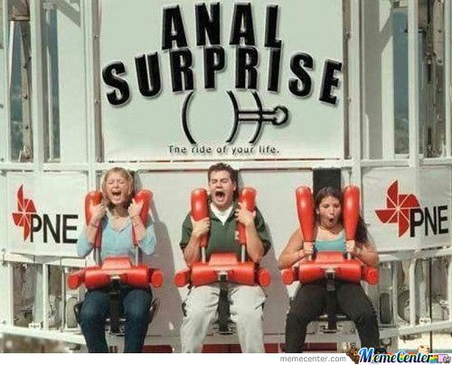 surprise anal