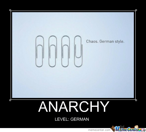 Anarchy Level: German