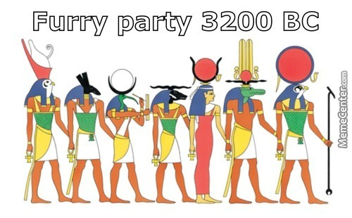 Ancient Egyptian Furry-Con