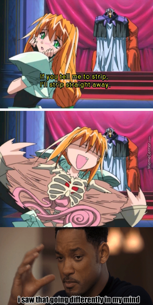 And I Don't Thiink It's Because Of My Dirty Mind....(Anime Name In The Tag)