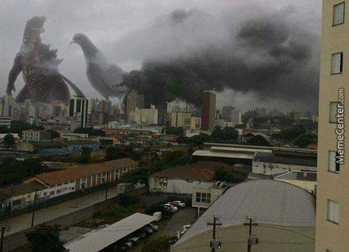 And If Godzilla Invaded Sao Paulo