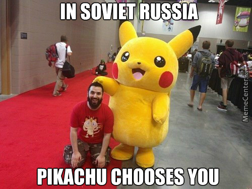 And In Soviet Kanto, Pokemon Attack You