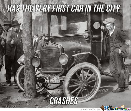 And Insurance Wasn't Invented Then