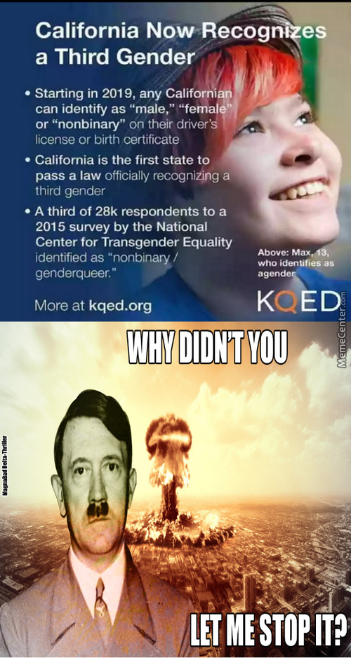 And Most Of The Sane States Of The United States Will Identify California As The Retarded Land
