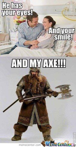 And My Axe