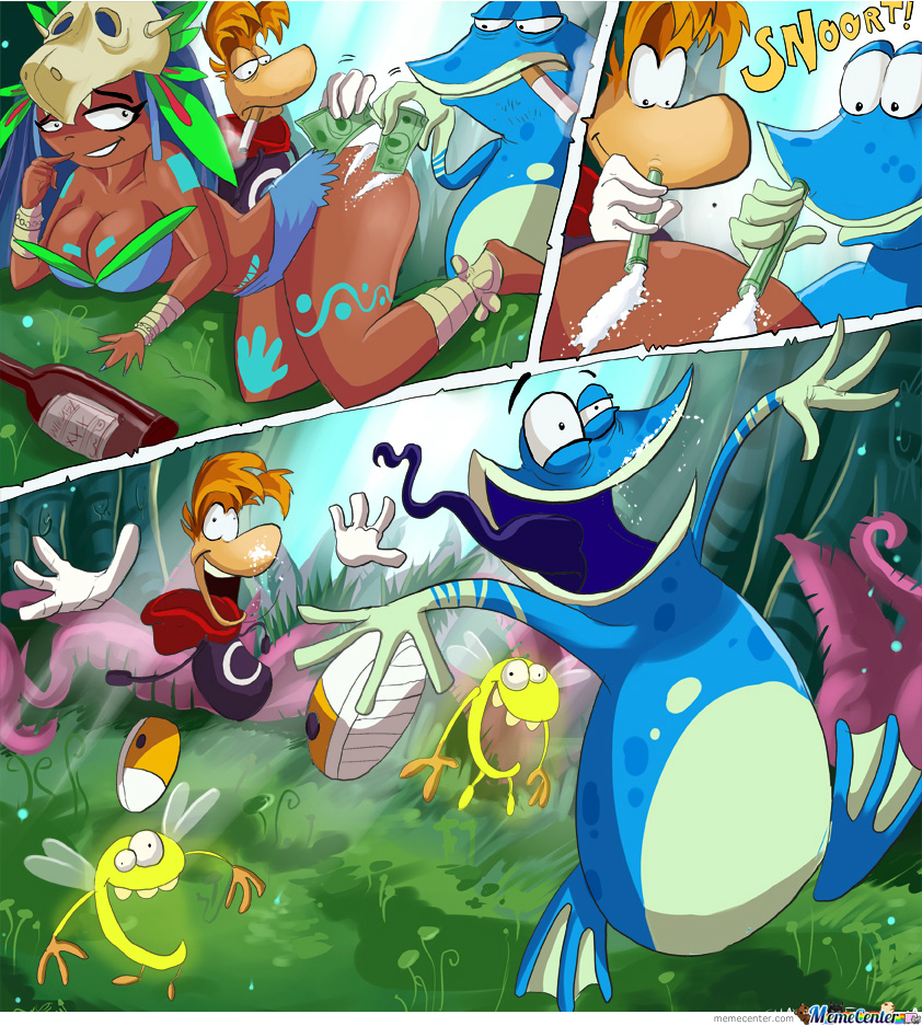 And Now You Know Why Rayman Is Always Happy