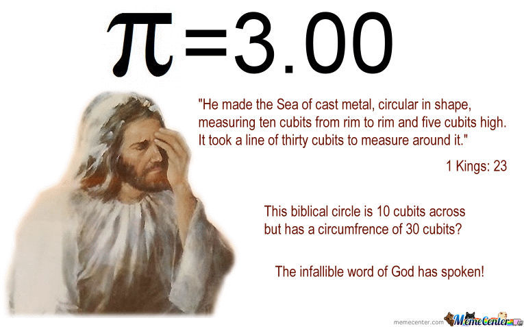 And On The 8Th Day... The Lord Messed Up His Geometry From All The Wine On The 7Th Night.