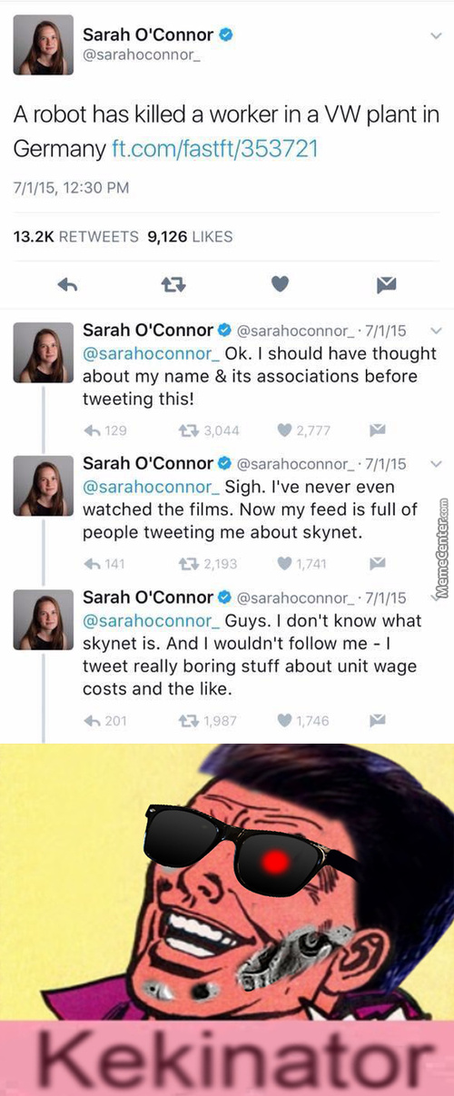 Skynet Memes Best Collection Of Funny Skynet Pictures