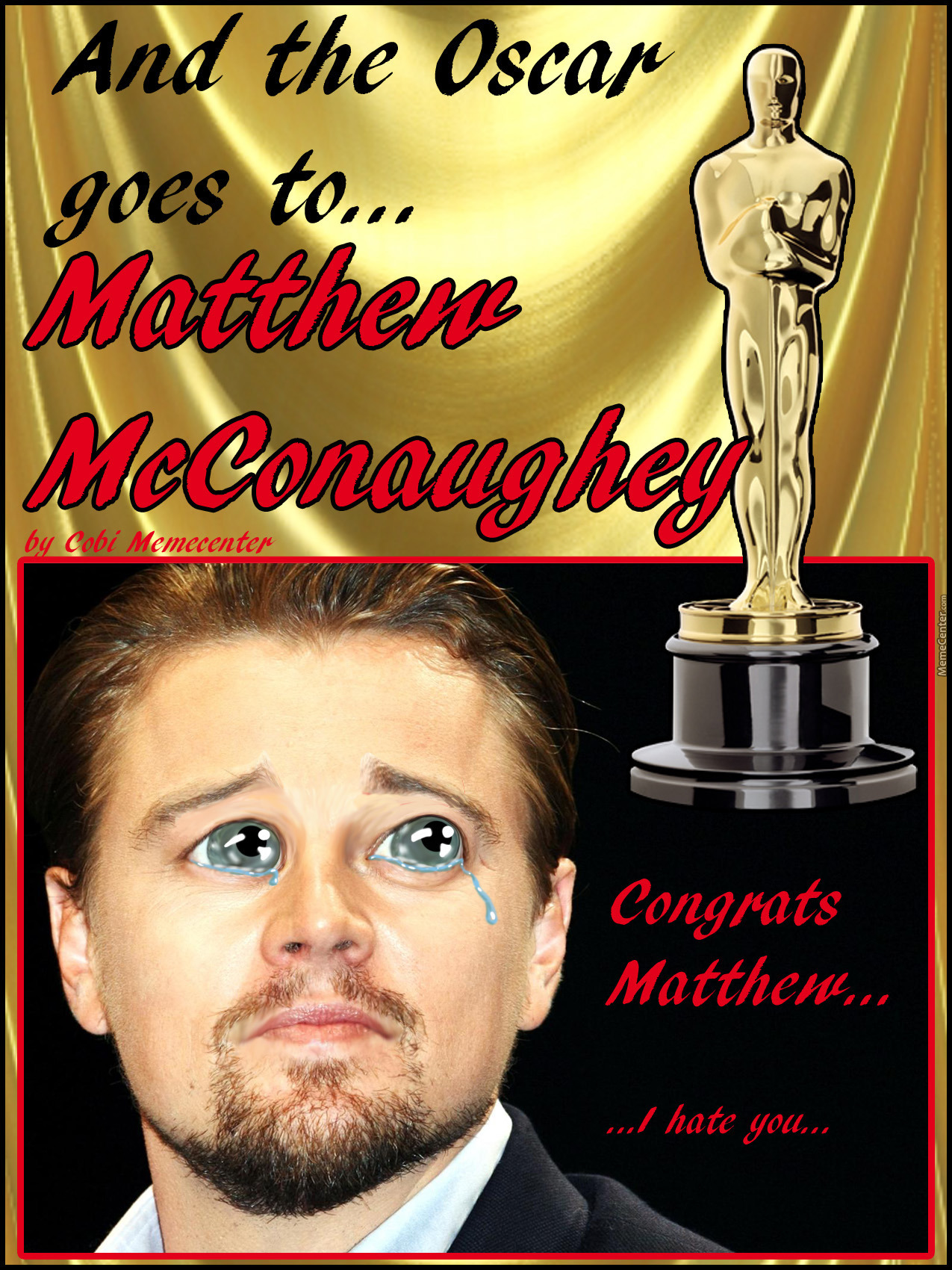 And The Oscar Goes To... ~By Cobi