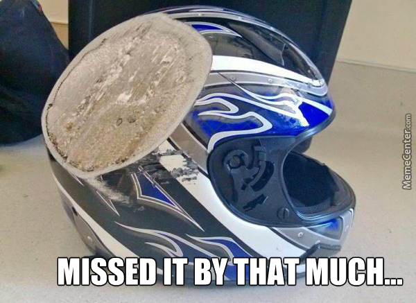 And This, Kids, Is Why You Should Always Wear Your Helmet