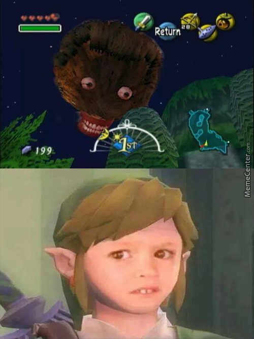 And To Think Moon Is Already 2Spooky Enough In Majora's Mask...