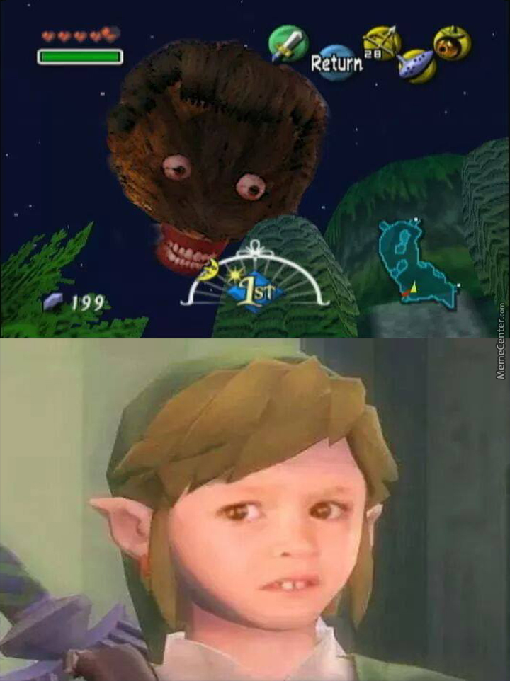 and to think moon is already 2spooky enough in majora amp 039 s mask_o_4135781 the mask memes best collection of funny the mask pictures,The Mask Meme