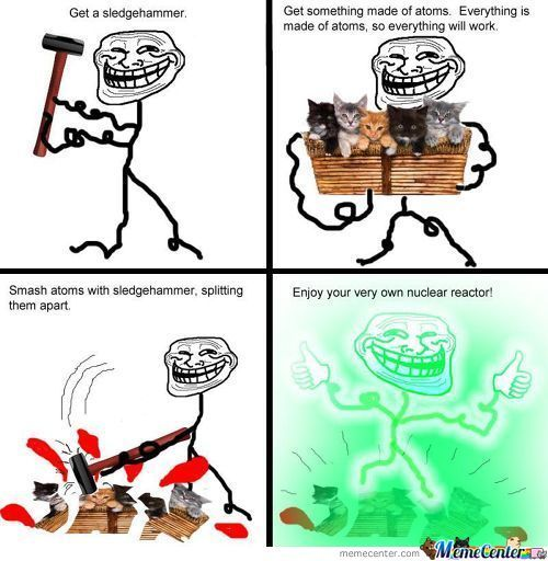 And Troll Science Has Come Back
