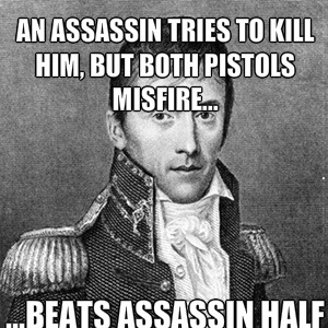 andrew jackson has no mercy for assassins_fb_2582983 andrew jackson has no mercy for assassins by the_dark_geek
