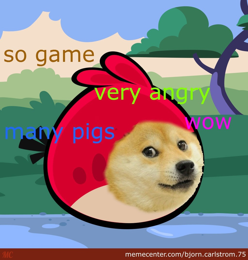 Angry Doge By Recyclebin