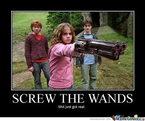 Angry Hermione