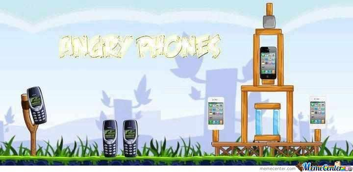 Angry Phones