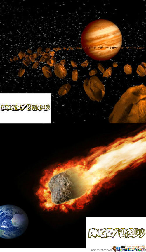 Angry Planets
