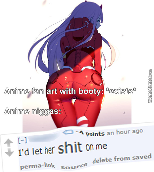 Anime Niggas Are Disgusting