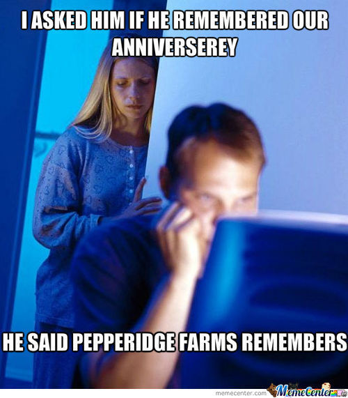 Anniverserey And Pepperidge Farms