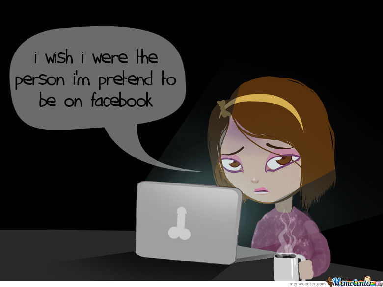 Annoying Facebook Girl In Real Life