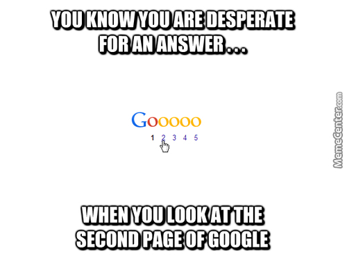 Annoying Google Search Problems