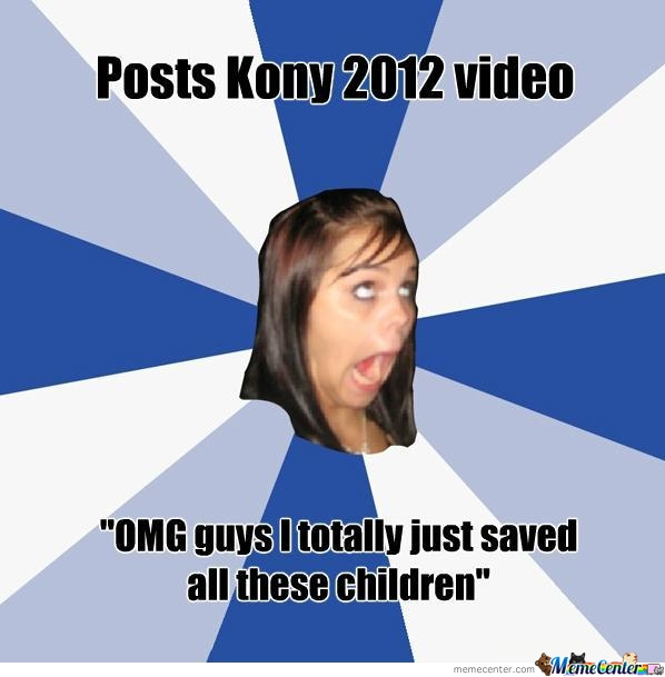 Annoying Kony Girl