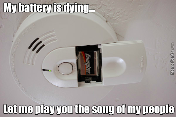 Annoying Smoke Detector By Mikhailsimpson Meme Center
