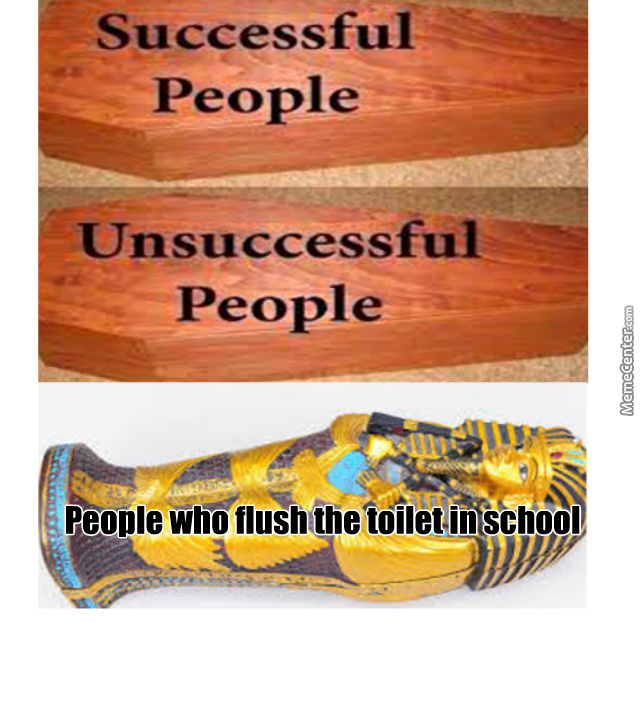 Another Alternative Is The People Who Don't Piss Outside The Toilet