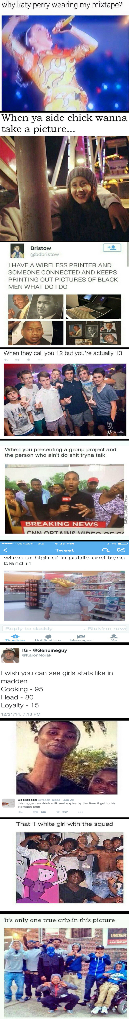 Another Black Twitter Compilation (Anyone Else Think It's Just White People Acting Black?)