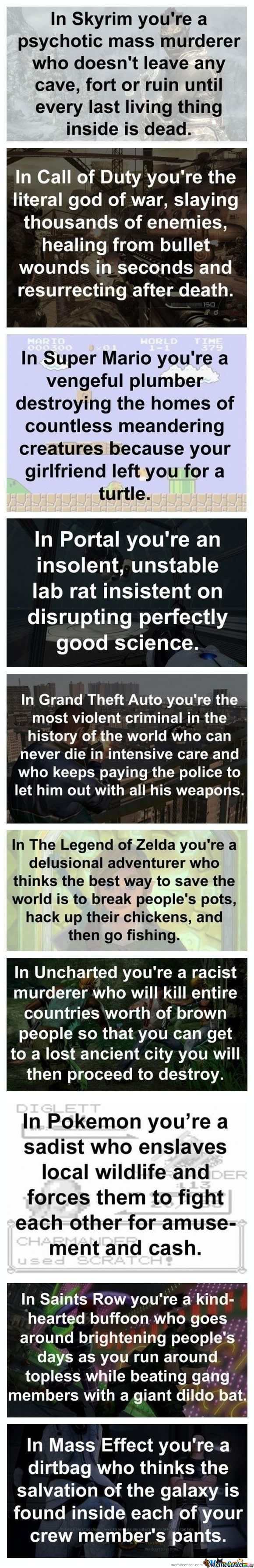 Another Perspective About Video Games..