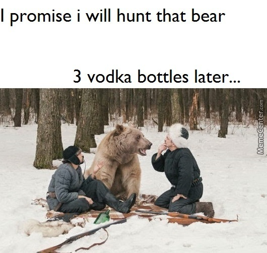 Another Round Comrade Bear !