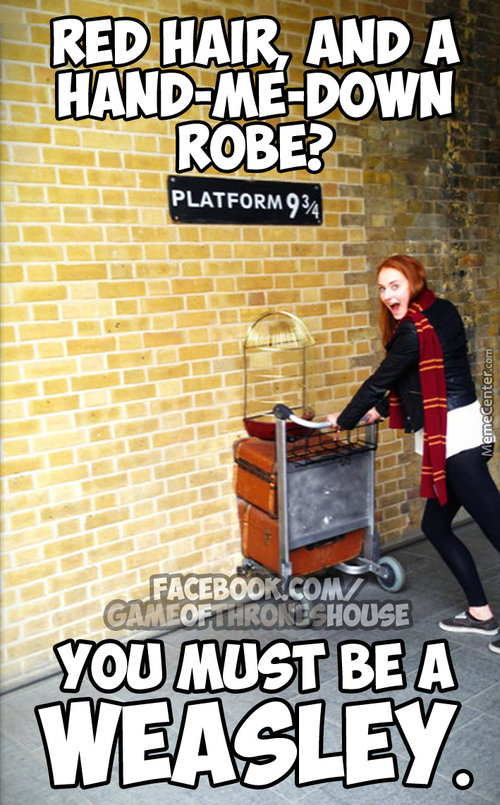 Another Weasley...