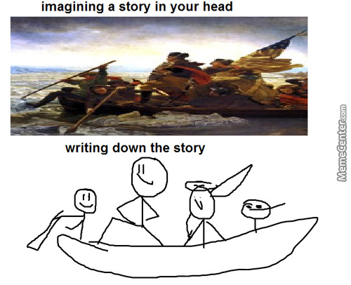 Another Writer Problem
