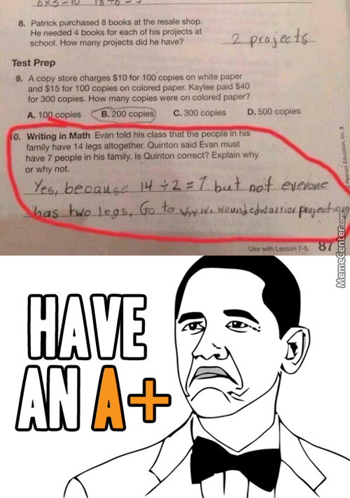 Answering Test Questions Like A Boss