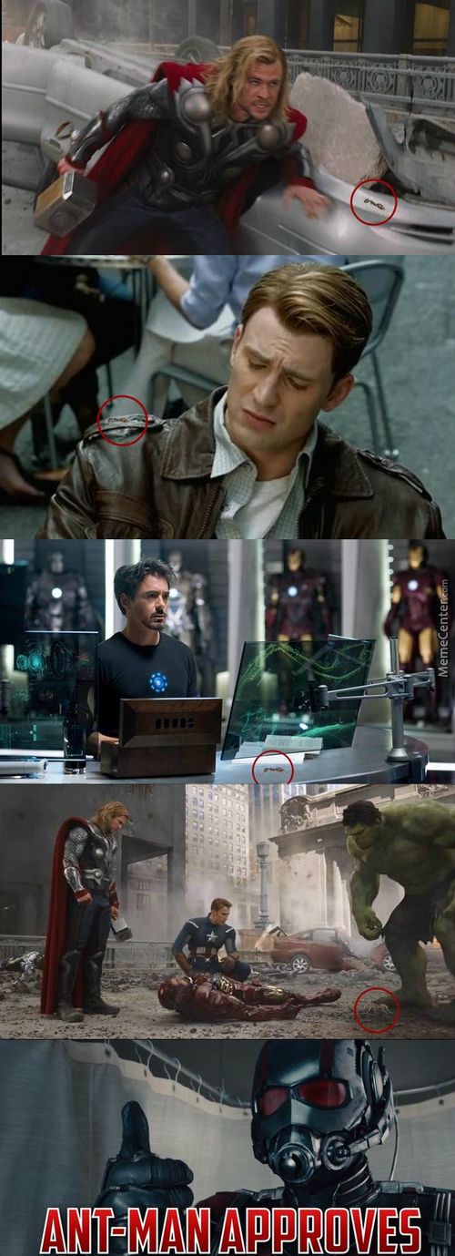 Ant-Man Cameos In Previous Marvel Movies