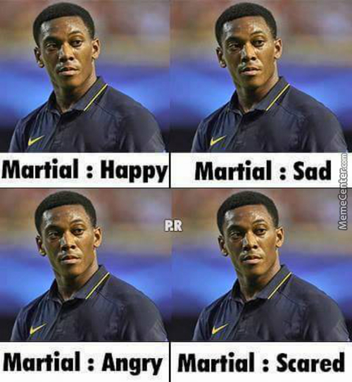 Anthony Martial...
