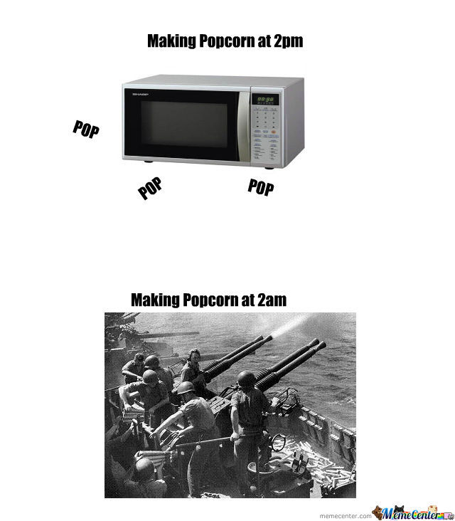 Anti Aircraft Pop Corn