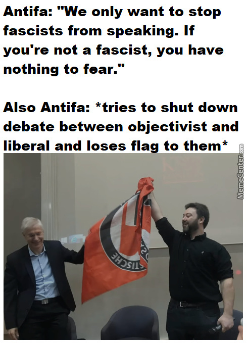 Antifa Is Thought Police