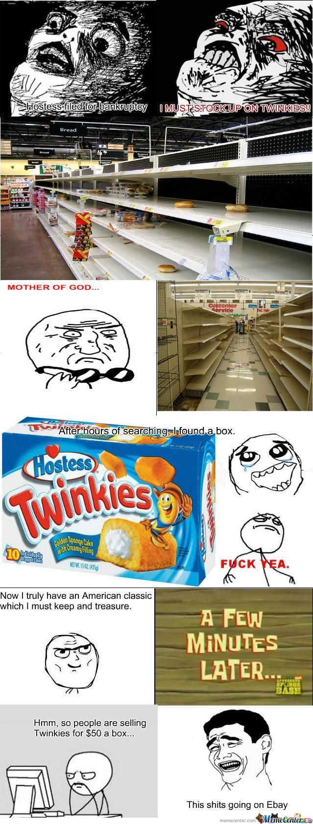 Anyone Wanna Buy Twinkies?