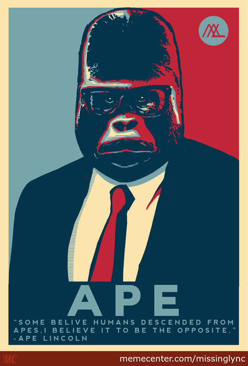Ape Lincoln For President