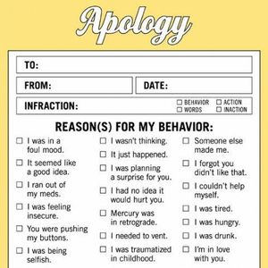 letter of apology business