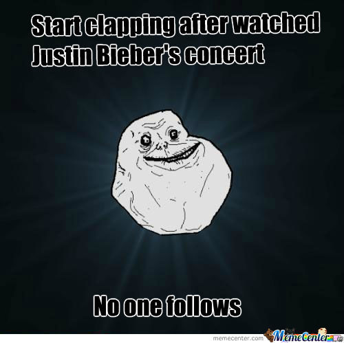 Applause For Justin Bieber